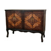 Oriental Furniture Olde-Worlde Vintage Rectangular Buffet