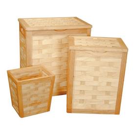 Redmon 3-Piece Wood Basket