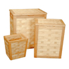 Redmon 3-Piece Wood Basket