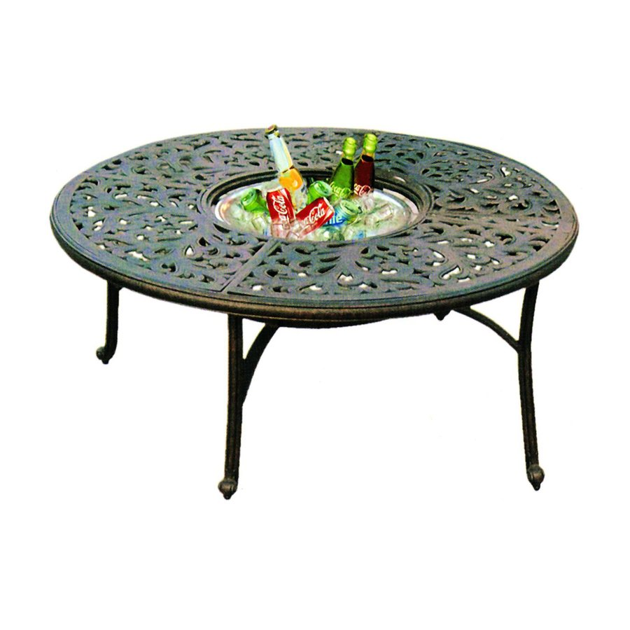 Shop Darlee Series 80 Aluminum Round Patio Coffee Table At