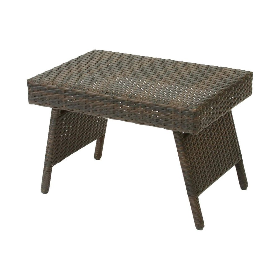 Shop best selling home decor wicker rectangle patio coffee table at Patio coffee tables