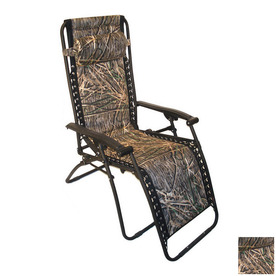 Shop jordan manufacturing sling seat patio chaise lounge for Camo chaise lounge
