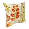 Jordan Manufacturing Fishbowl Seaweed Tropical Square Outdoor Decorative Pillow
