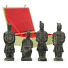 Oriental Furniture 6-in H Terra Cotta Warriors Garden Statue