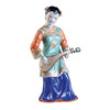 Oriental Furniture 13.5-in H Maiden Garden Statue
