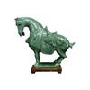 Oriental Furniture Jade Saddled Horse Statue
