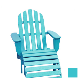 Beachfront Furniture Aruba Blue Adirondack Chair ADCH-AB