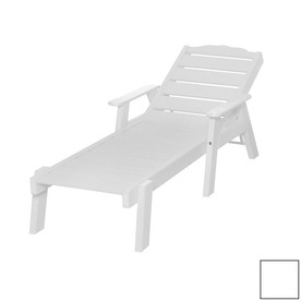 Shop Beachfront Furniture Sand Dollar Slat Seat Plastic Patio