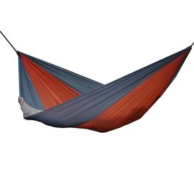 Vivere Parachute Grey/Orange Fabric Hammock