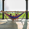 Vivere Tropical Fabric Hammock Stand Included
