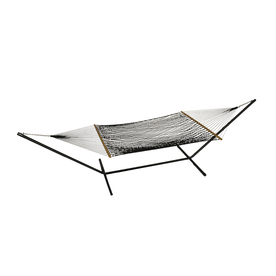 Phat Tommy Outdoor Oasis Black Rope Hammock