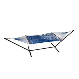 Phat Tommy Outdoor Oasis Bold Blue Rope Hammock
