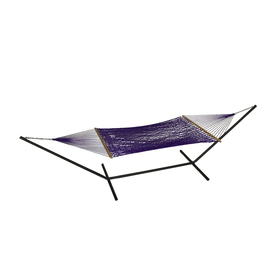 Phat Tommy Outdoor Oasis Purple Rope Hammock