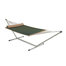 Twotree 6-ft 10-in Polyester Hammock with Stand