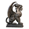 Design Toscano Argos Gargoyle Sentinel 24-in Garden Statue