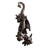 Design Toscano Double Trouble Hanging Gargoyle 24-in Garden Statue