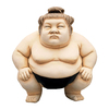 Design Toscano 23-in Basho The Sumo Wrestler Garden Statue