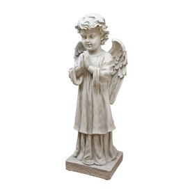 Design Toscano 28-in The Angel's Message Garden Statue