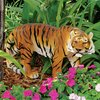 Design Toscano 14-in Power and Grace Sumatran Tiger Garden Statue
