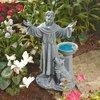 Design Toscano Saint Francis Garden Blessing 19-in Garden Statue