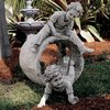Design Toscano 29-in H Hide and Seek Garden Statue