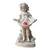 Design Toscano Abigal's Bountiful Apron 19.5-in Garden Statue
