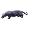 Design Toscano Grande Black Panther 16-in Garden Statue