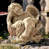 Design Toscano 12.5-in H Afternoon Nap Angel Garden Statue