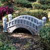 Design Toscano Halfpence Cobblestone Bridge 13.5-in  Garden Statue