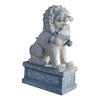 Design Toscano Giant Foo Dog of The Forbidden City 30-in Garden Statue
