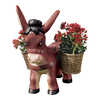 Design Toscano 22.5-in H Pancho The Burro Planter Garden Statue