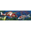 Design Toscano Set of Two Japanese Floating Koi Garden Statues