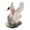 Design Toscano Set of 2 Majesty of Swan Lake 23-in Garden Statues