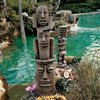 Design Toscano Set of 2 Art of Celebration Tikis Garden Statues
