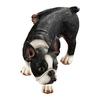 Design Toscano Lifting A Leg Naughty Boston Terrier 7-in Garden Statue