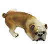Design Toscano Good Dog Gone Bad Peeing Bulldog 7-in Garden Statue