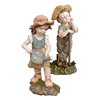 Design Toscano Fanny and Frank Farmer Garden Statues