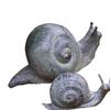 Design Toscano Bronze Snails 5-in Garden Statue