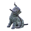 Design Toscano 14.5-in H Raining Dogs Piped Bronze Garden Statue