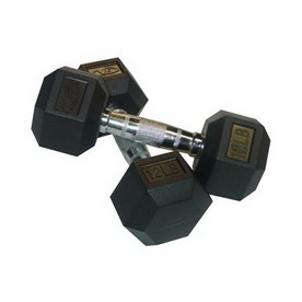 Valor Fitness 24-lb Fixed-Weight Dumbbell Set