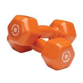Body Solid Tools 10-lb Fixed-Weight Dumbbell