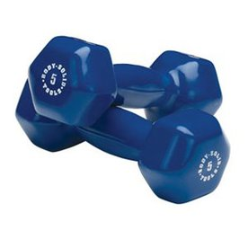 Body Solid Tools 5-lb Fixed-Weight Dumbbell
