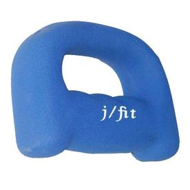 J FIT 4-lb Blue Fixed-Weight Dumbbell