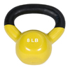 J FIT Yellow 8 lbs Fixed-Weight Kettlebell