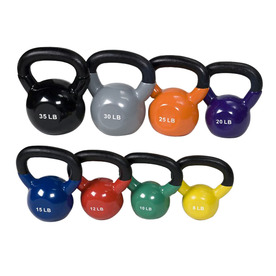 J FIT Multicolor 155 lbs Fixed-Weight Kettlebell