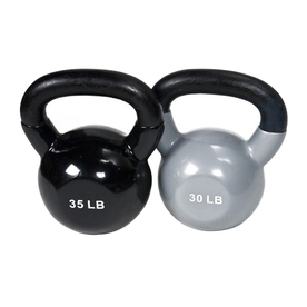 J FIT Multicolor 65 lbs Fixed-Weight Kettlebell