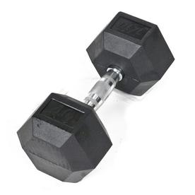 J FIT 40-lb Black Fixed-Weight Dumbbell