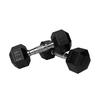 Xmark Fitness 30 -lb Chrome Fixed-Weight Dumbbell Set