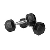 Xmark Fitness 40 -lb Chrome Fixed-Weight Dumbbell Set