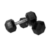 Xmark Fitness 50 -lb Chrome Fixed-Weight Dumbbell Set